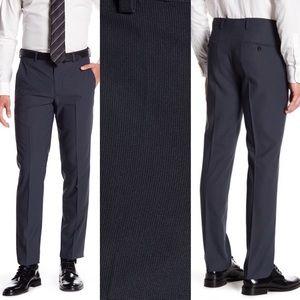 Louis Raphael Tailored Micro Modern Pinstripe Pant